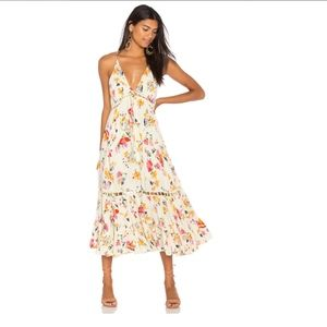 Free People Page of Gold Maxi Dress
